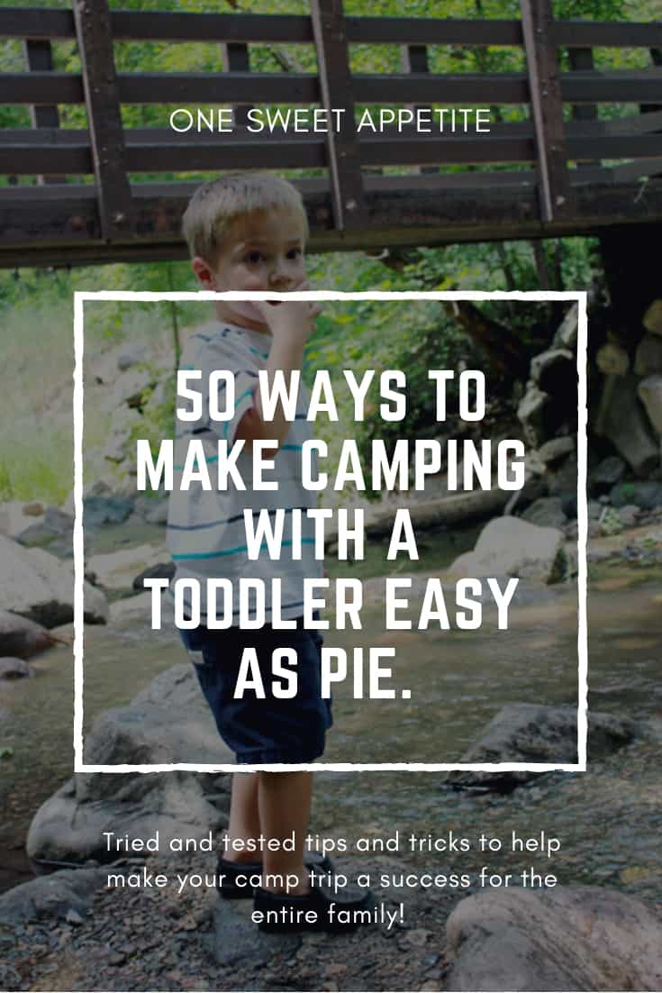 50 Tips For Camping With Toddlers