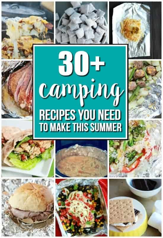 Camping Recipe Round up on One Sweet Appetite