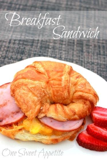 Camping Breakfast Sandwich