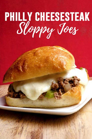 Easy Philly Cheesesteak Sloppy Joes
