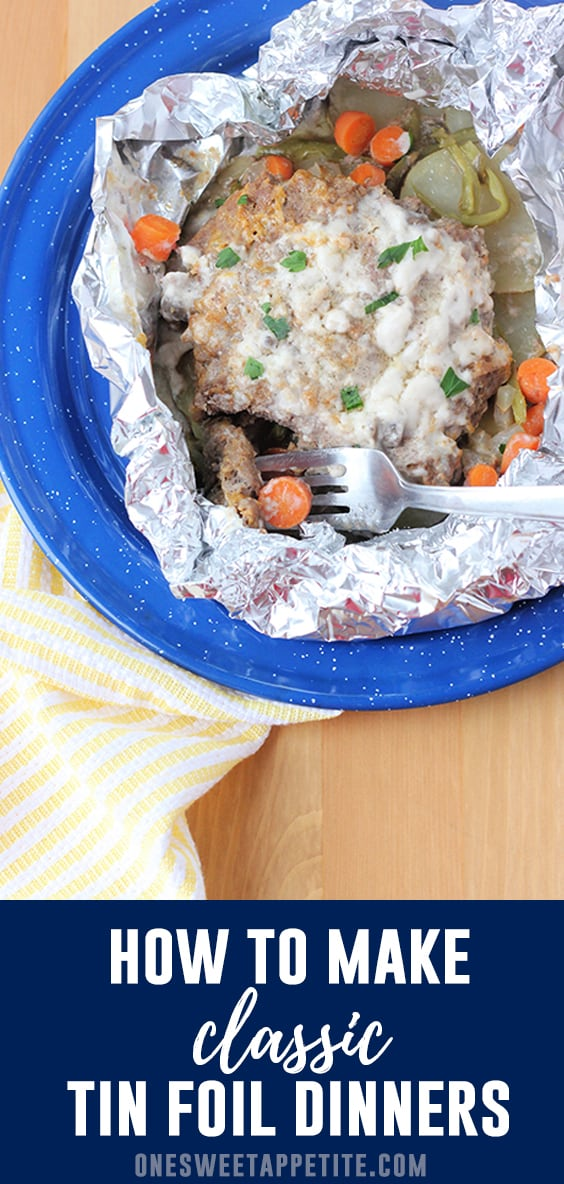 How to make classic tin foil dinners - the best camping recipe!