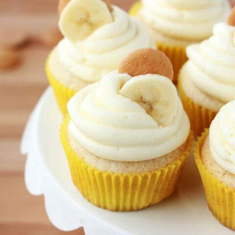 Banana Cream Pie Cupcake Recipe