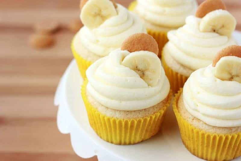 Banana Cream Pie Cupcake Recipe