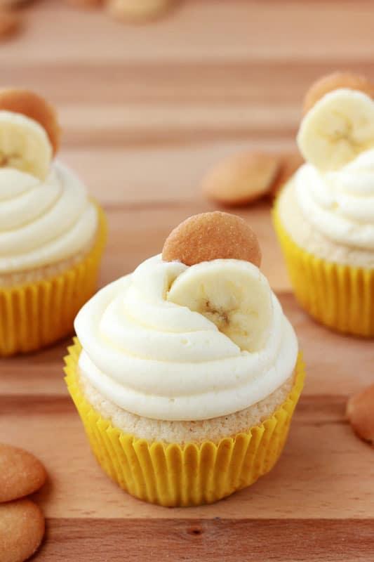 Banana Pie Cupcakes
