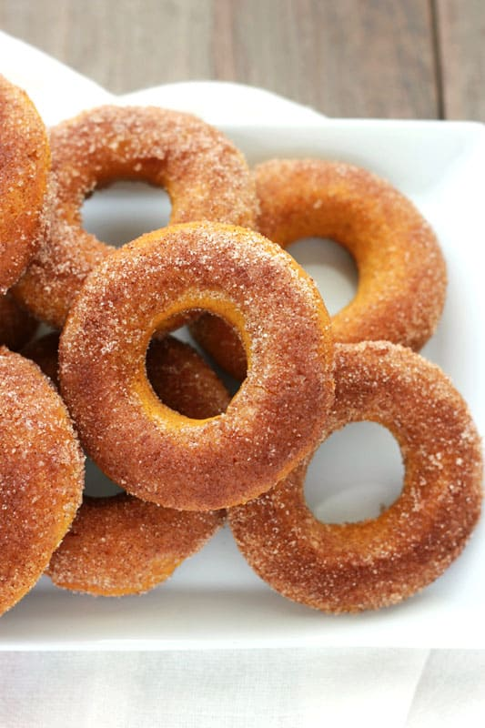 Baked Pumpkin Donut Recipe