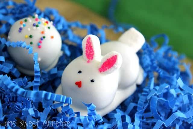 Easter Bunny Oreo Truffles