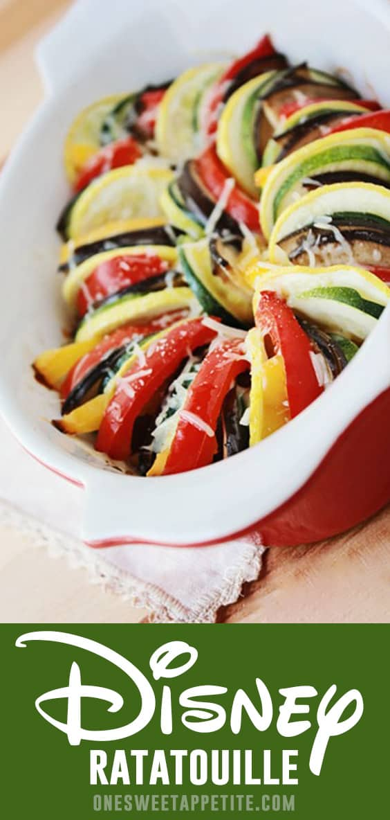 Bring the classic Disney movie to life with this veggie packed Ratatouille! Quick, delicious, and fun for the entire family.