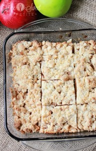 Apple Crumb Bars