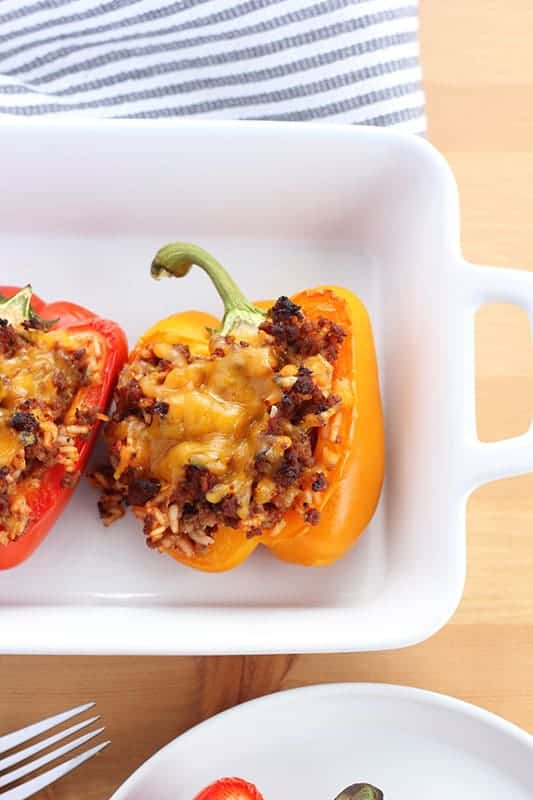 Our favorite Stuffed Peppers