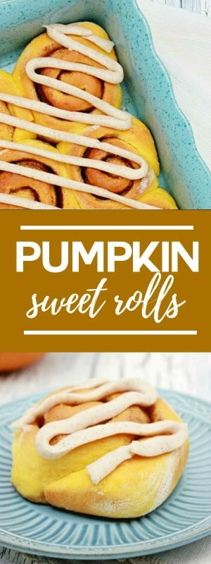 Easy Pumpkin Sweet Rolls