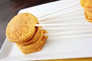 Pumpkin Pancake Pops