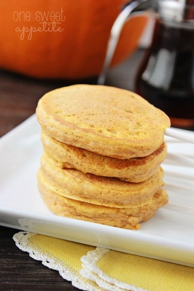 pumpkin pancake pop recipe
