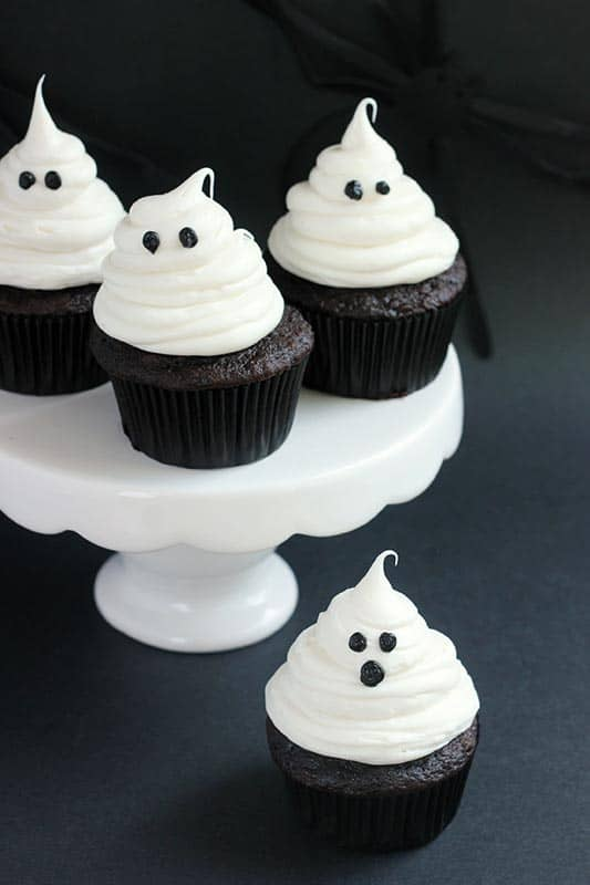 Ghost Cupcake Tutorial