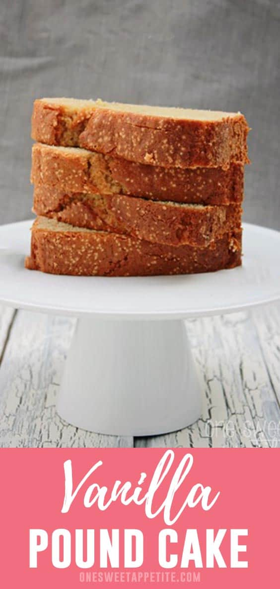 This pound cake recipe is probably one of my new all time favorites. It is so fragrant and mouth watering. Easy to make and a family favorite!