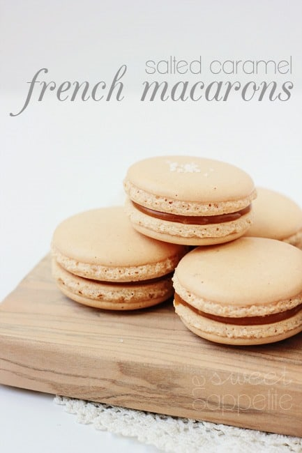 posted a teaser for these amazing Salted Caramel French Macarons a ...