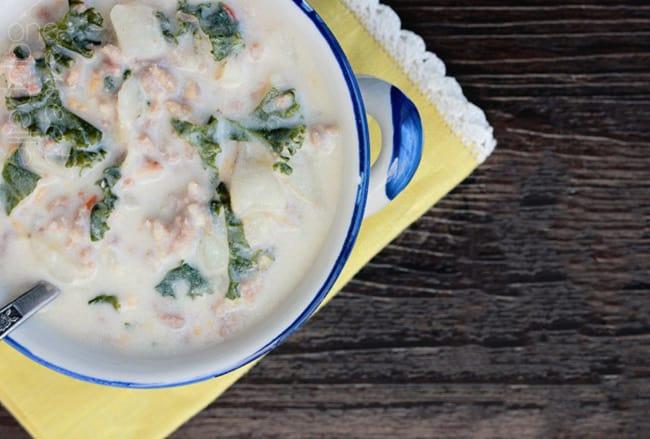 Easy Copycat Olive Garden Soup