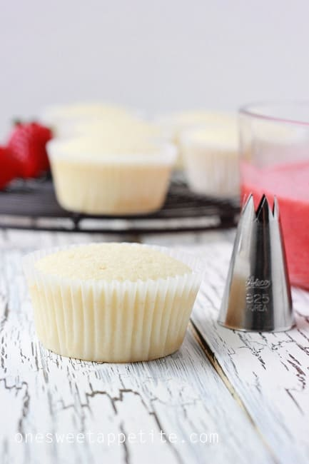 How to fill a cupcake supplies