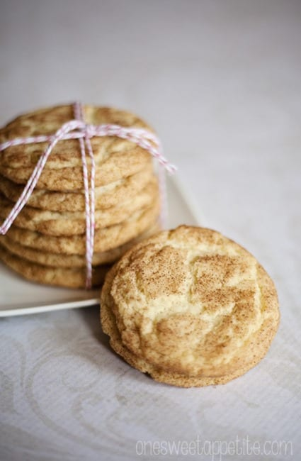 snickerdoodle cookie easy recipe