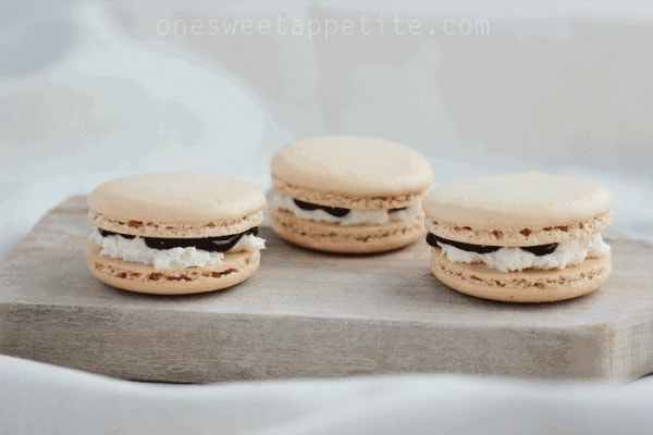 Smore French Macarons
