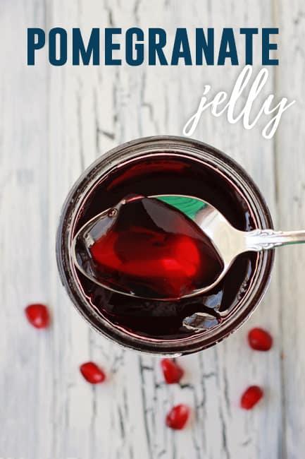 Homemade Pomegranate Jelly