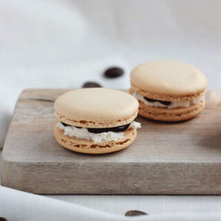 Ghirardelli S'more French Macarons
