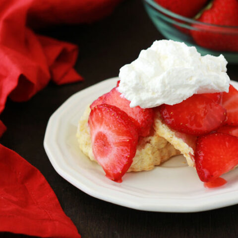 Strawberry Shortcake on One Sweet Appetite
