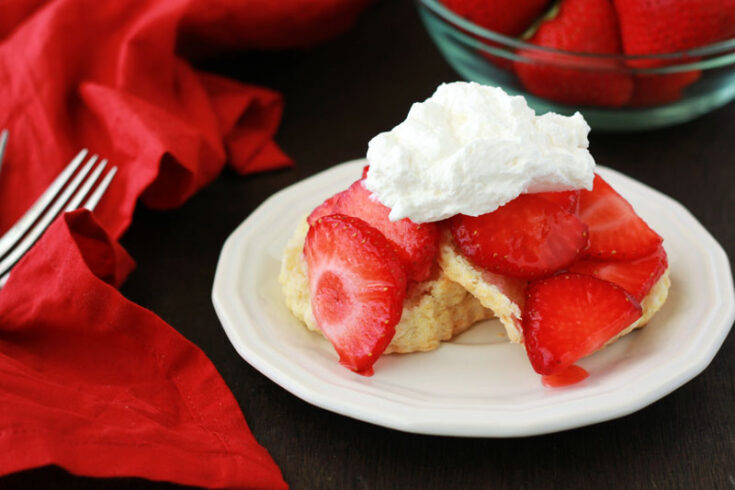 Strawberry Shortcake Recipe- Made From Scratch!