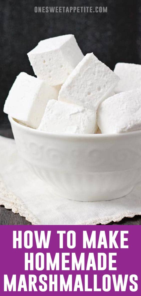 This easy Homemade Marshmallow recipe is ideal for snacking, hot cocoa, or camping! You will never buy a bag in the store again!