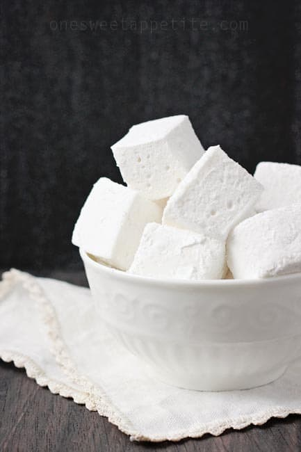 Marshmallows made from scratch
