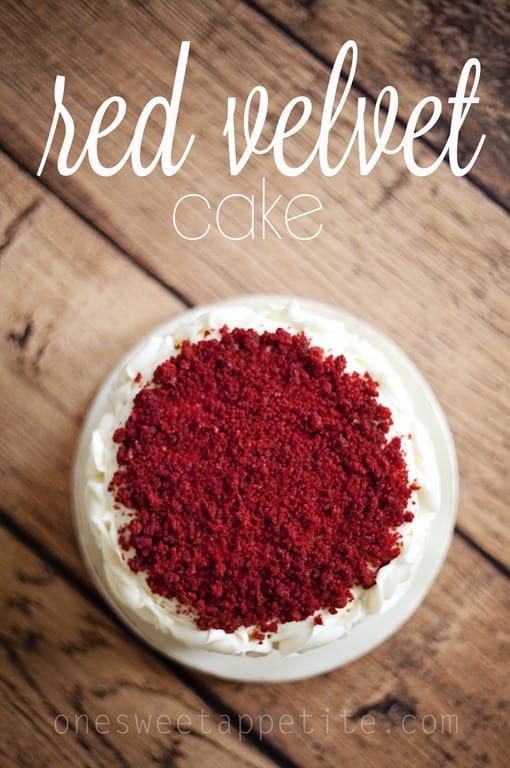 Red Velvet Cake - One Sweet Appetite