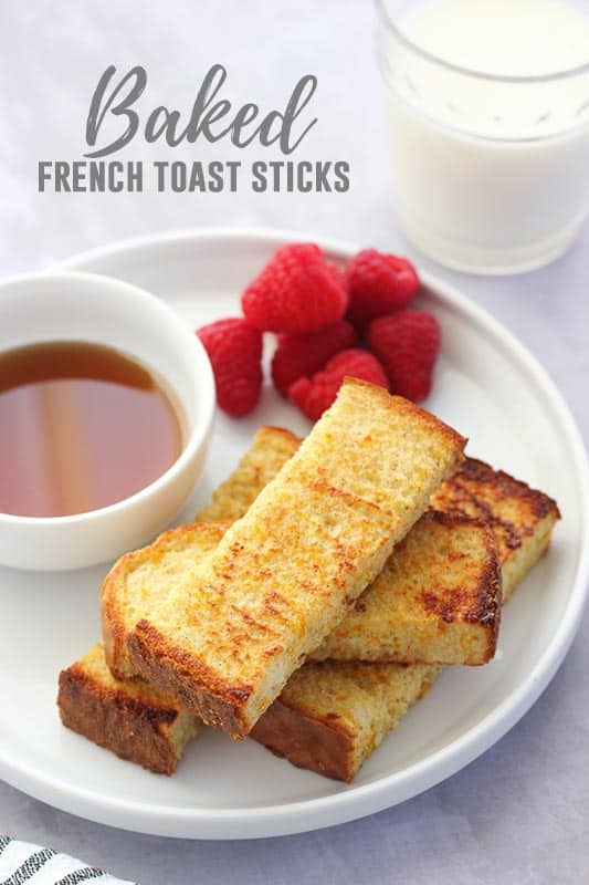 Perfect Baked French Toast Sticks