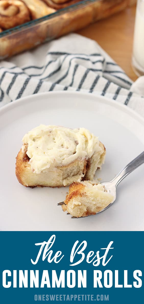 This classic Cinnamon Roll Recipe makes the worlds best cinnamon rolls. Most of the ingredients are pantry staples which means you already have everything you need to get baking!