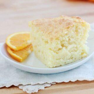 3 Ingredient Orange Cake