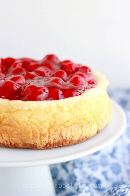 the best cheesecake recipe with cherries