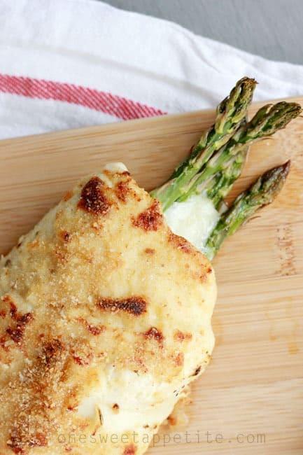 chicken asparagus roll easy recipe