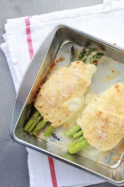 chicken asparagus roll recipe