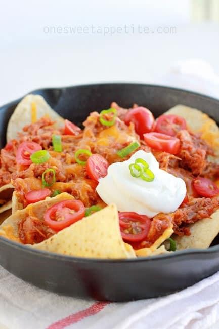 pulled pork nachos easy recipe