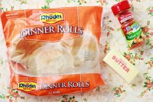 Easy Seasoned Dinner Rolls