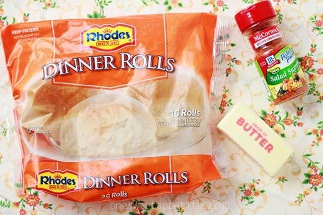 seasoned dinner rolls ingredients