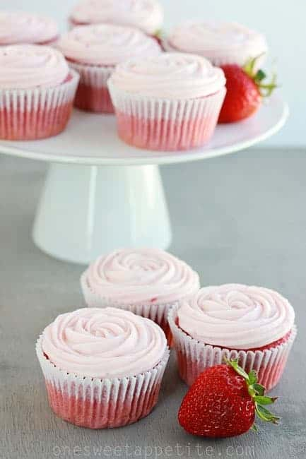 Doctored White Cake Mix For Cupcakes