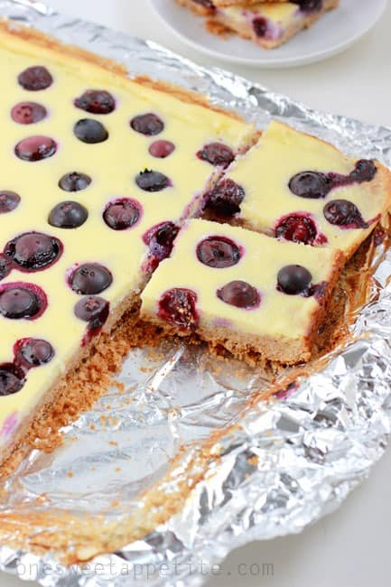 Blueberry Cheesecake Bars Recipe