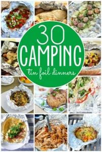 30 Camping Tin Foil Dinners
