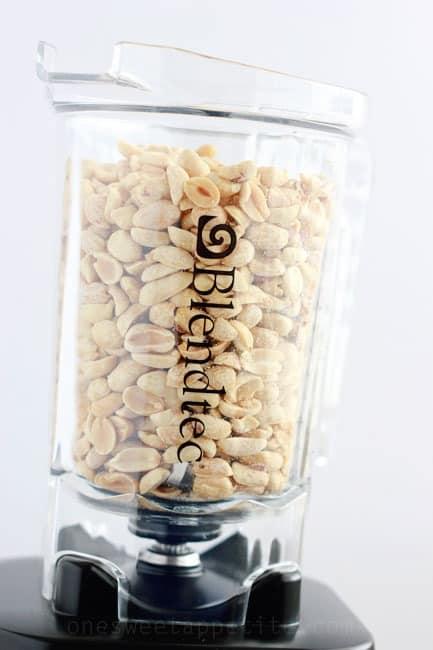 blendtec peanut butter ingredients