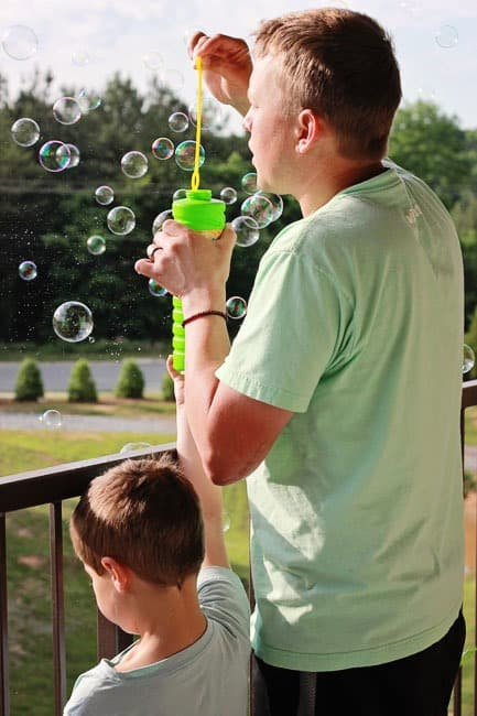 bubble-poping