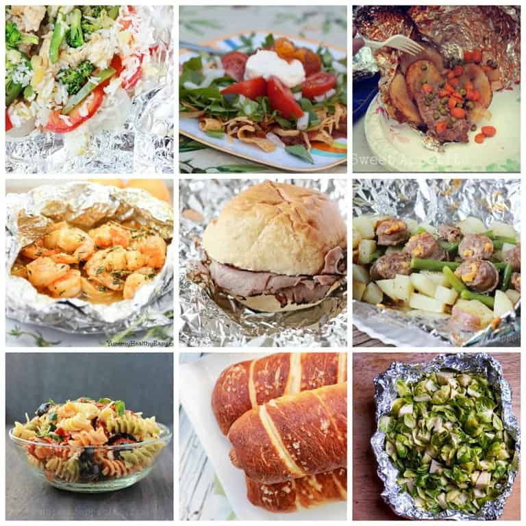 Camping Food Ideas In Foil: 45 Easy Camping Recipes