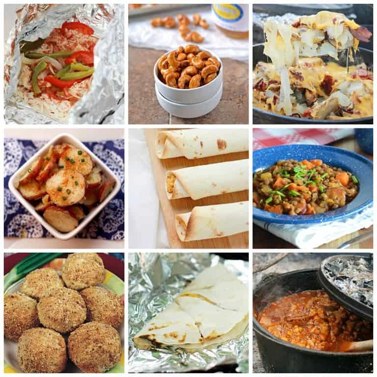 45 Easy Camping Recipes
