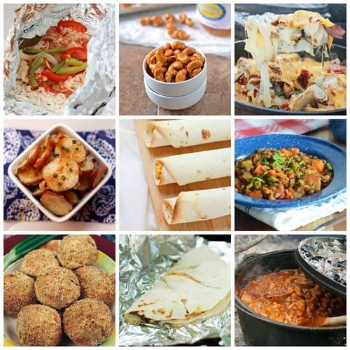 45 Easy Dinner Ideas: 45 Easy Camping Recipes