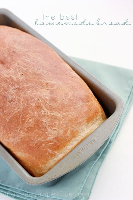 The best homemade bread recipe