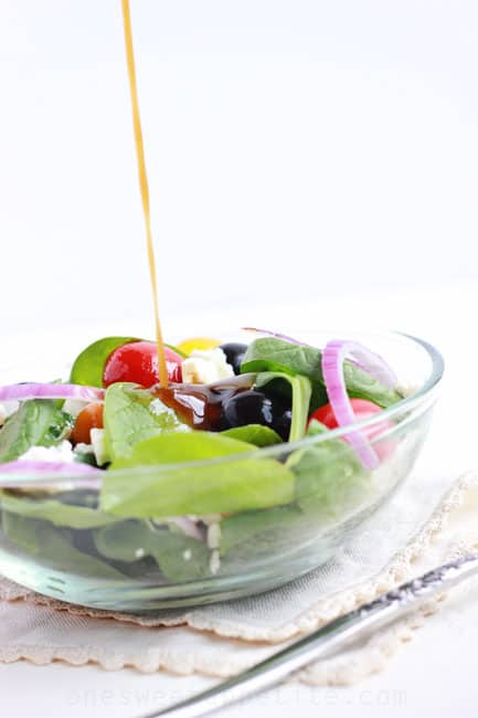 Simple balsamic vinaigrette easy recipe