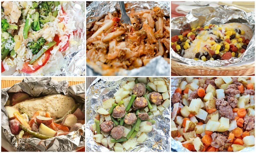 Tin Foil Dinner Ideas